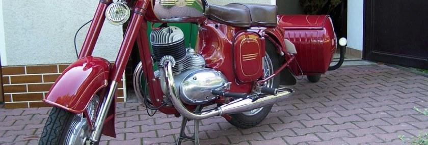 Generální oprava GO vidlic Jawa 250/353