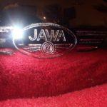 Nádrž po úpravě Jawa 250 pérák 1949
