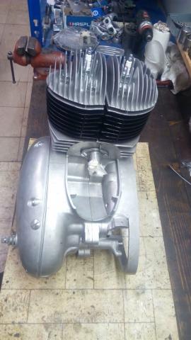 Generální oprava motor pérák 350