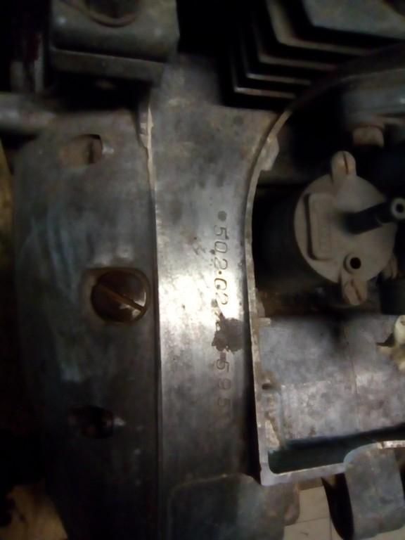 motor čz 502 před GO