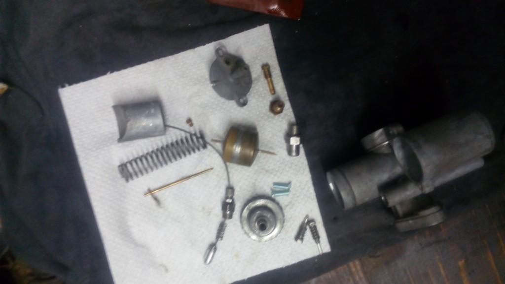 repase karburátoru