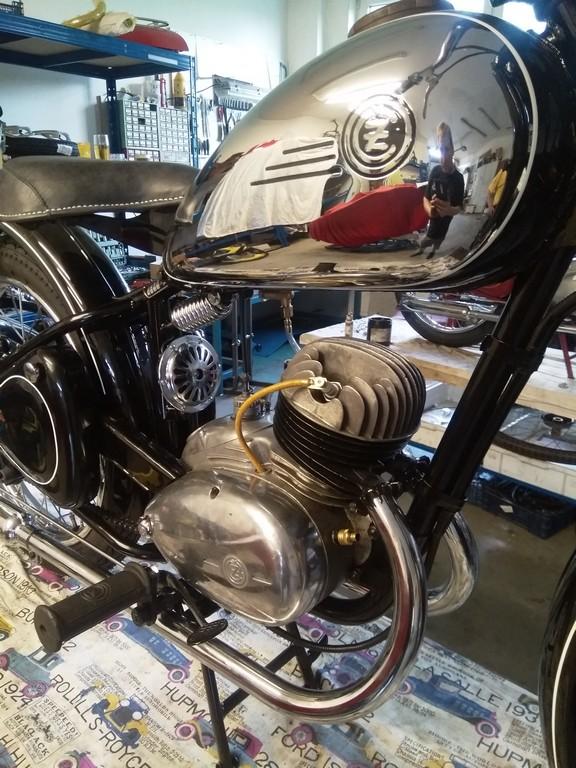 ČZ 150c kompletní renovace
